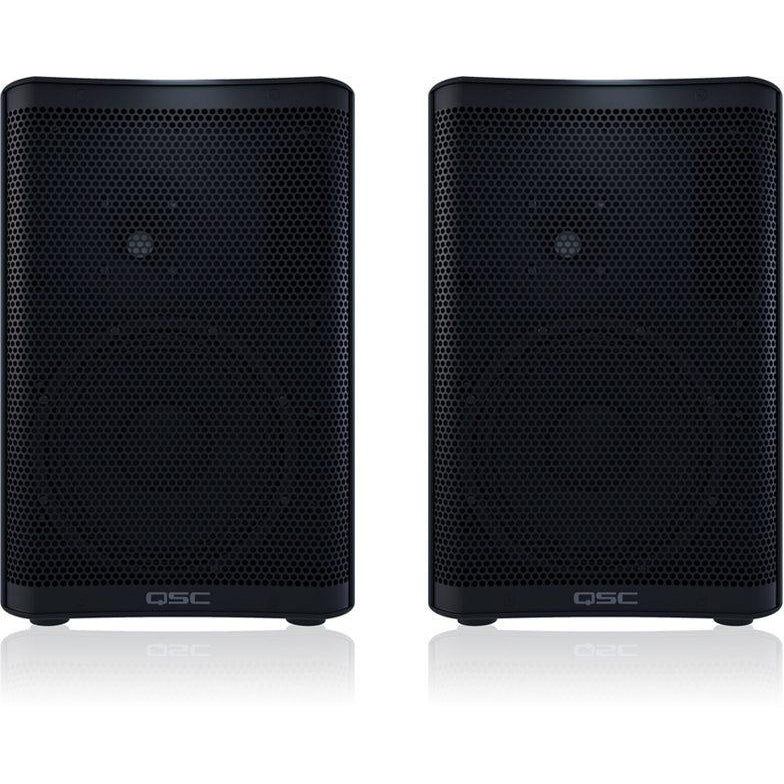 QSC CP8 Compact Powered Loudspeaker, Pair