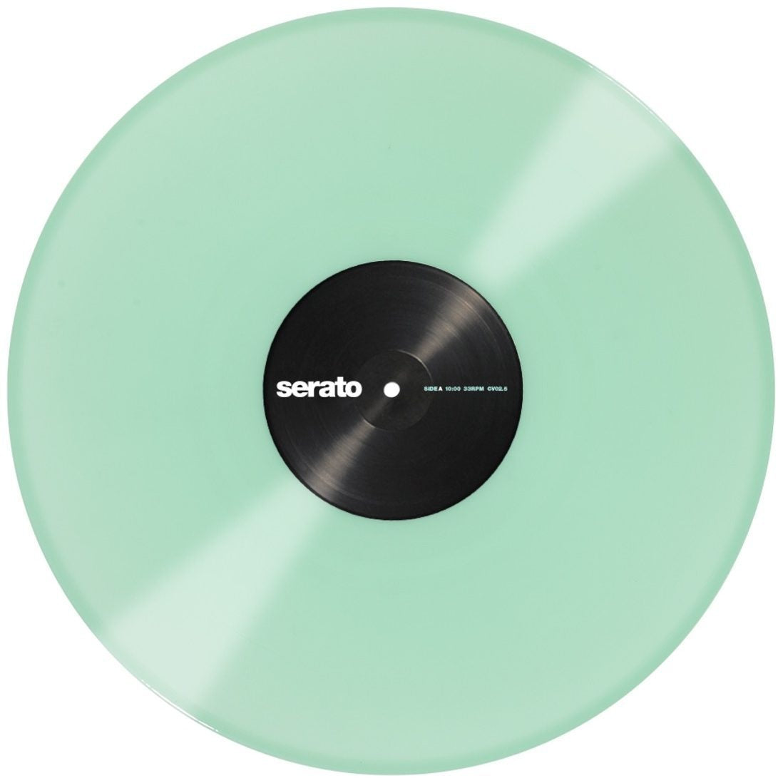 Serato Performance Series Control Vinyl, Glow in the Dark
