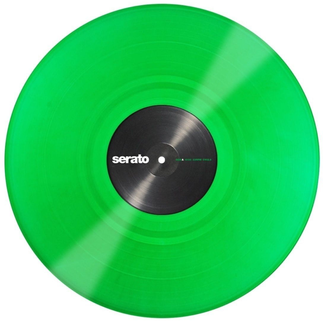 Serato Performance Series Control Vinyl, Green