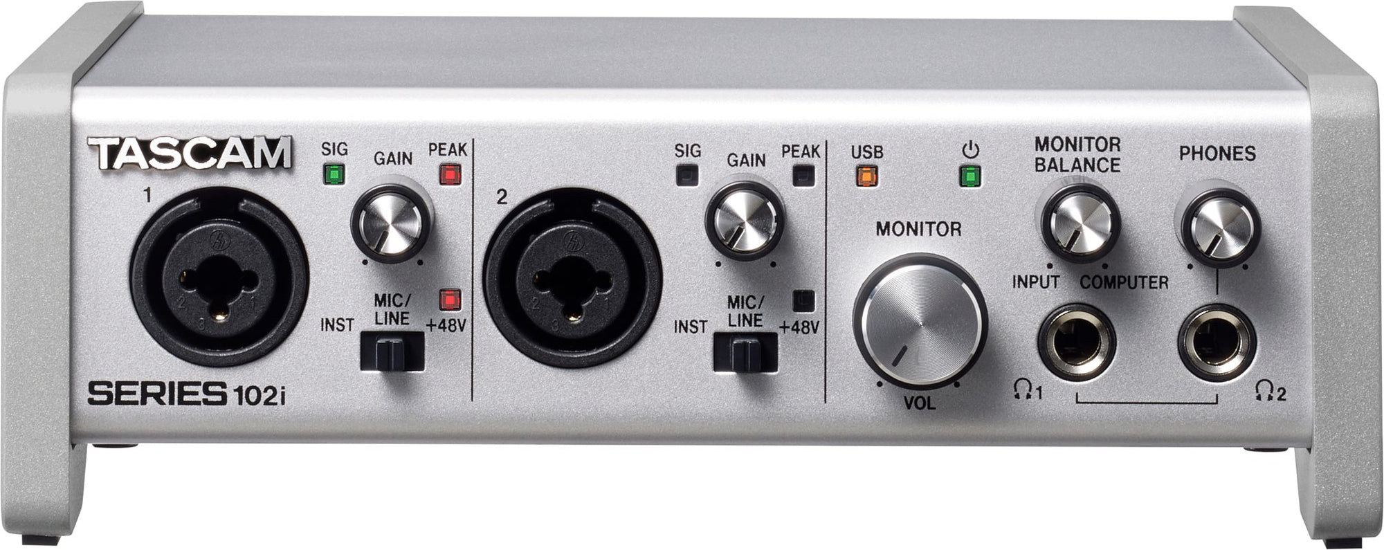 Tascam Series 102i USB Audio Interface