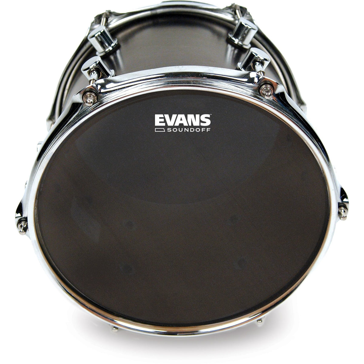 Evans SoundOff Tom Batter Mesh Drumhead, Black, 13 Inch