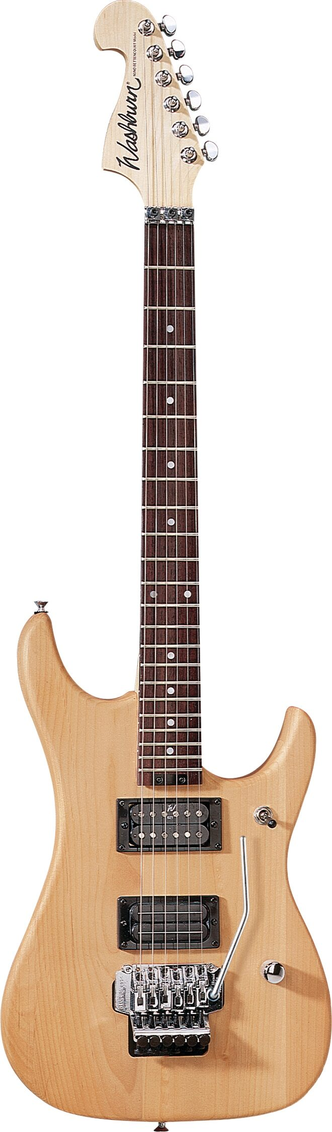 Washburn Nuno Bettancourt N2 Electric Guitar (with Gig Bag), Natural Matte