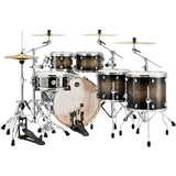 Load image into Gallery viewer, Mapex Armory 6-Piece Studioease Fast Drum Shell Pack - Black Dawn