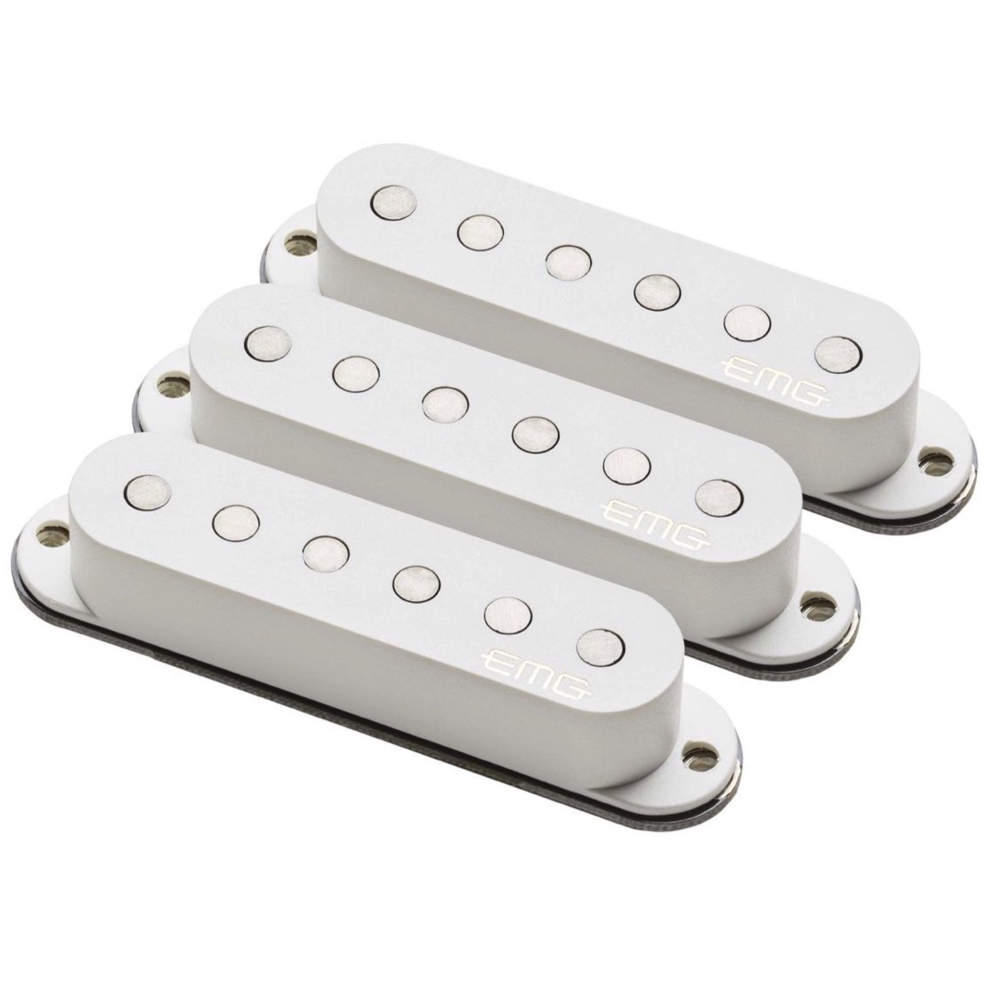 EMG Retro Active Maverick Five Electric Guitar Pickup Set, White