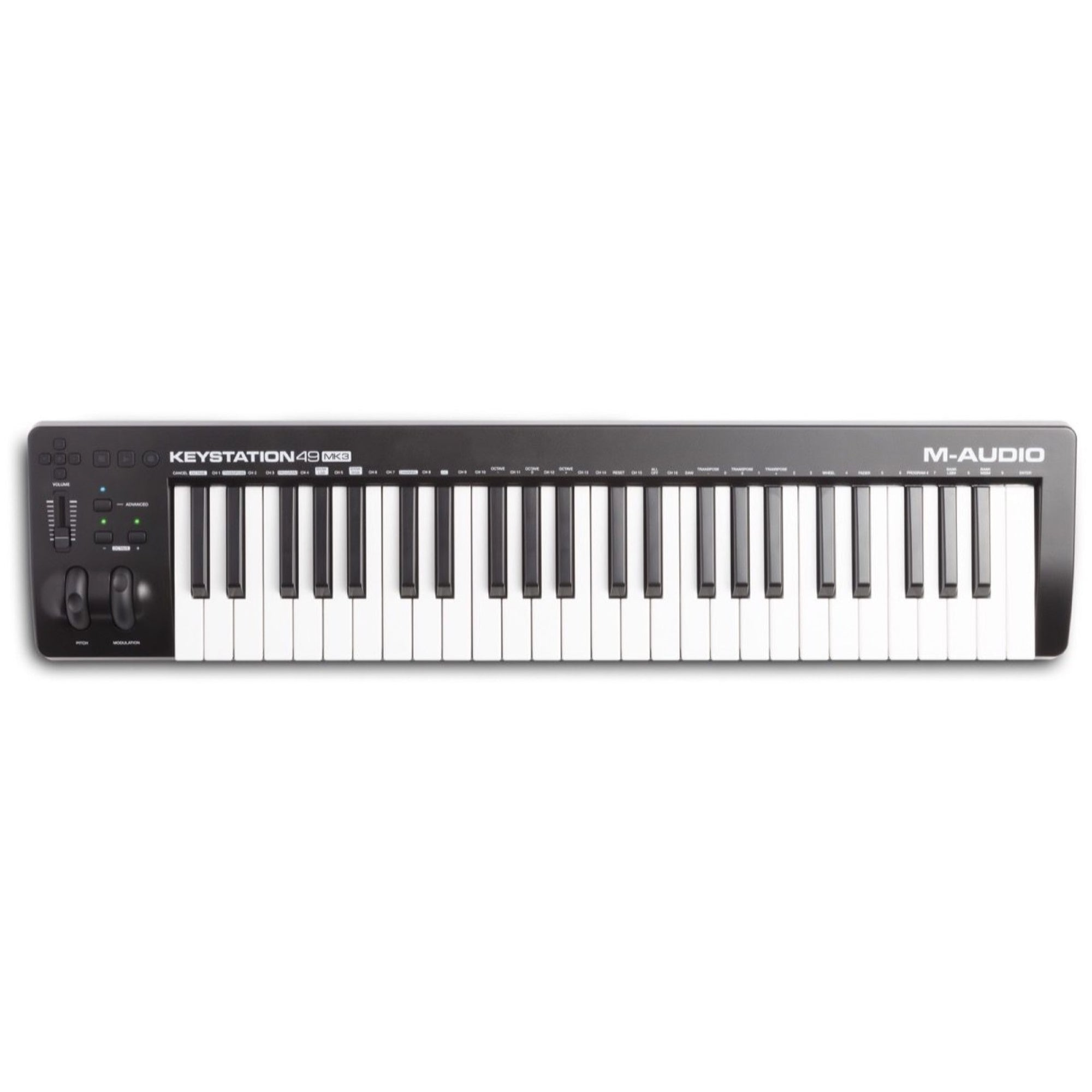M-Audio Keystation 49 MK3 USB MIDI Controller, 49-Key