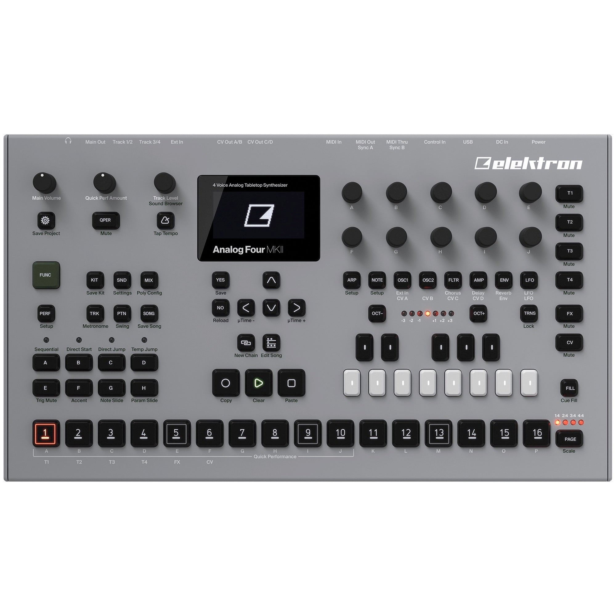 Elektron Analog Four MKII Analog Synthesizer