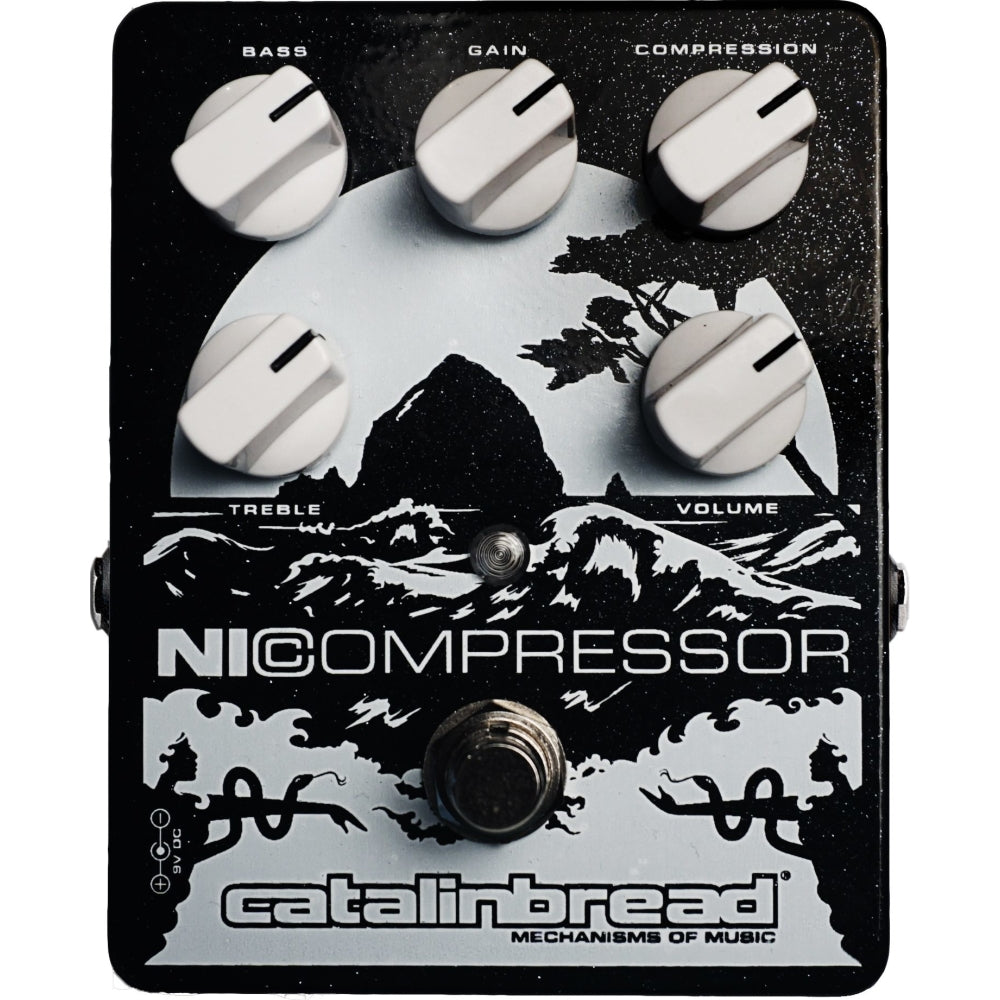 Catalinbread NiCompressor Pedal, Silver