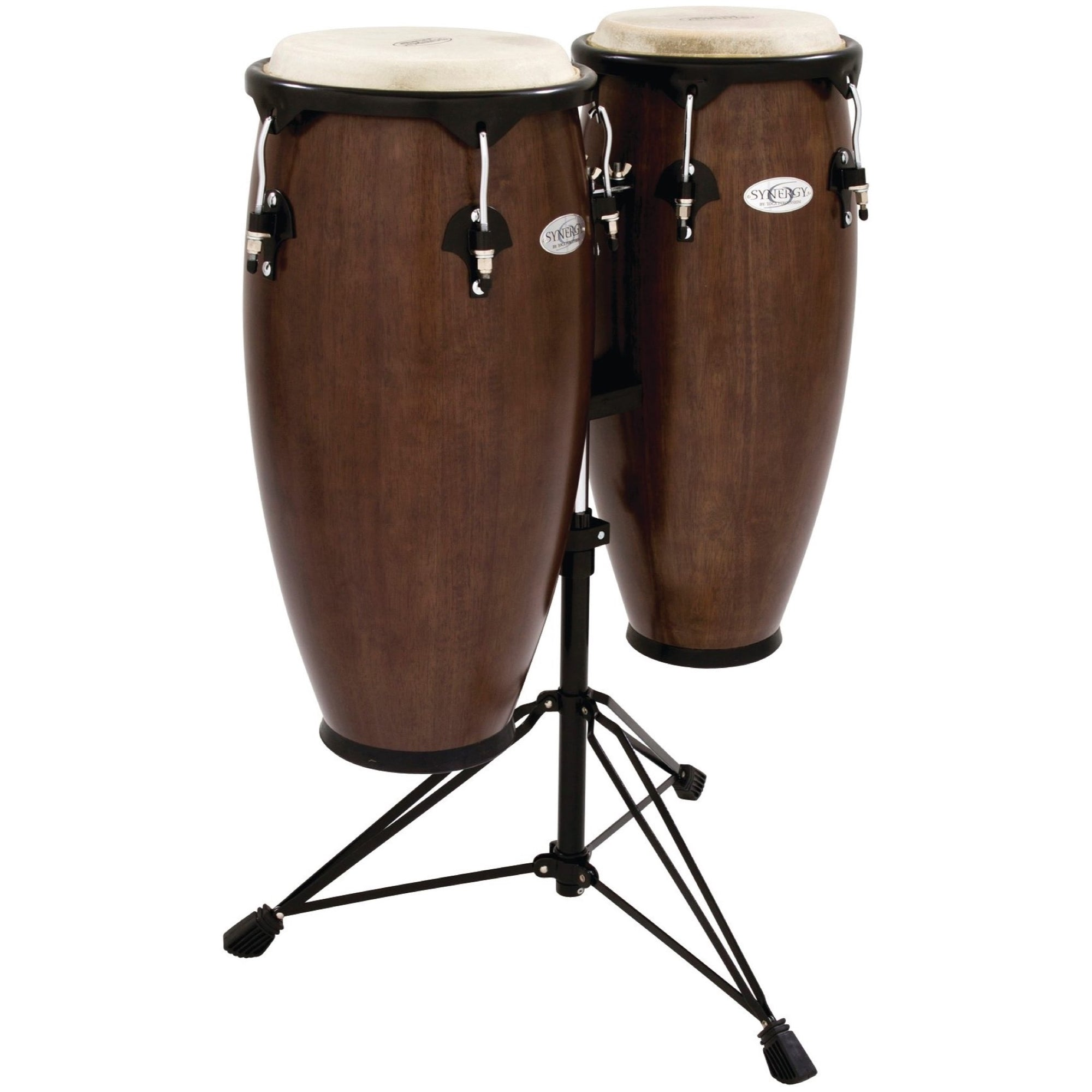 Toca Synergy Congas (with Stand), Tobacco Burst