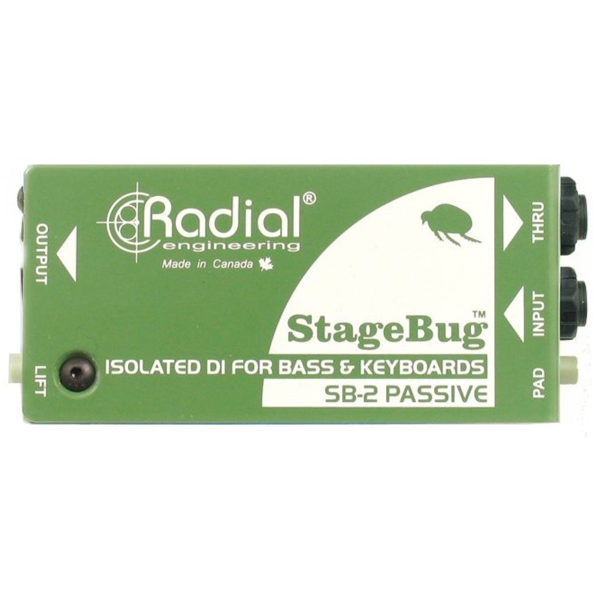 Radial StageBug SB-2 Passive Compact DI Direct Box