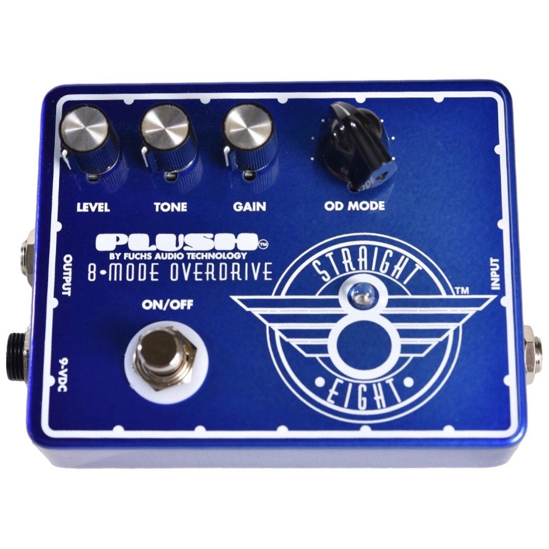 Fuchs Plush Straight 8 Overdrive Pedal