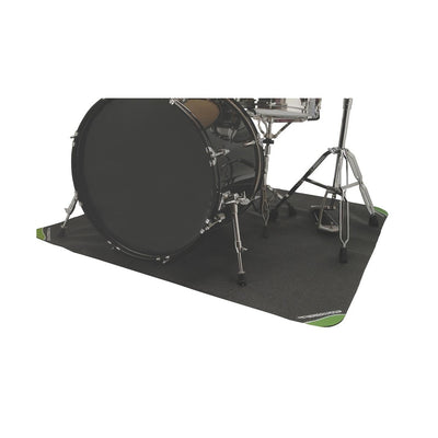 On-Stage DMA DrumFire Non-Slip Drum Mat, 6x4 Foot