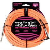 Load image into Gallery viewer, Ernie Ball Braided Instrument Cable, Neon Orange, 10 Foot