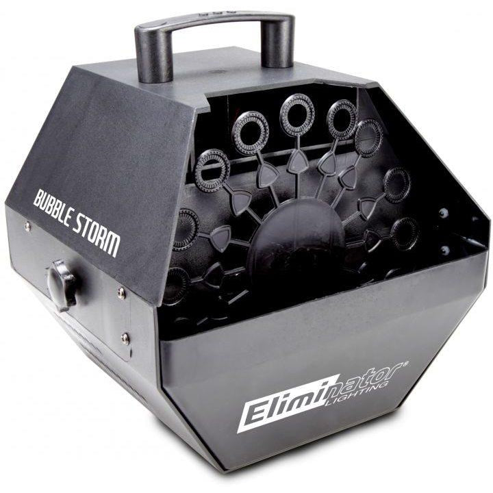 Eliminator Lighting Bubbles Storm Bubble Machine