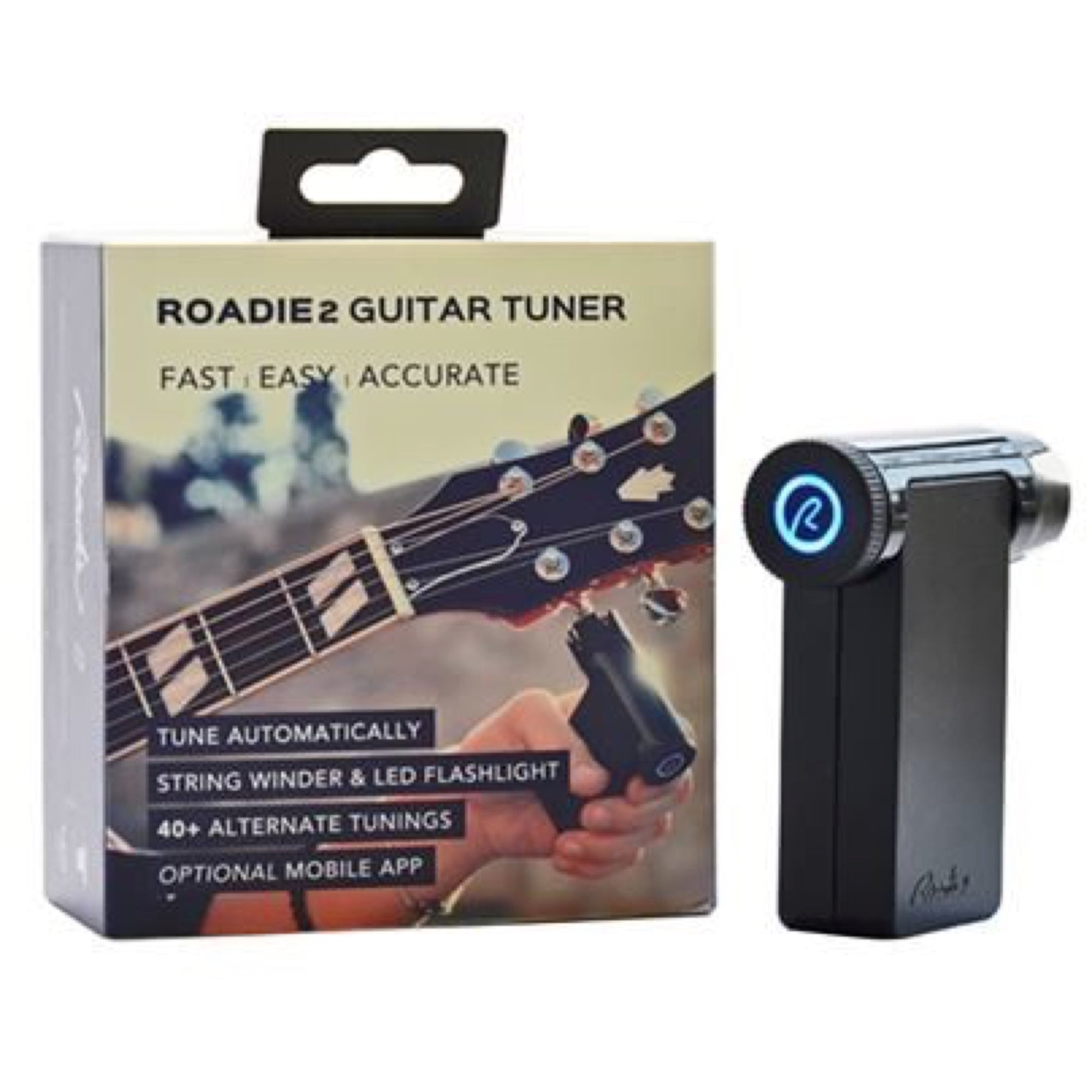 Roadie 2 Automatic Guitar Tuner and String Winder