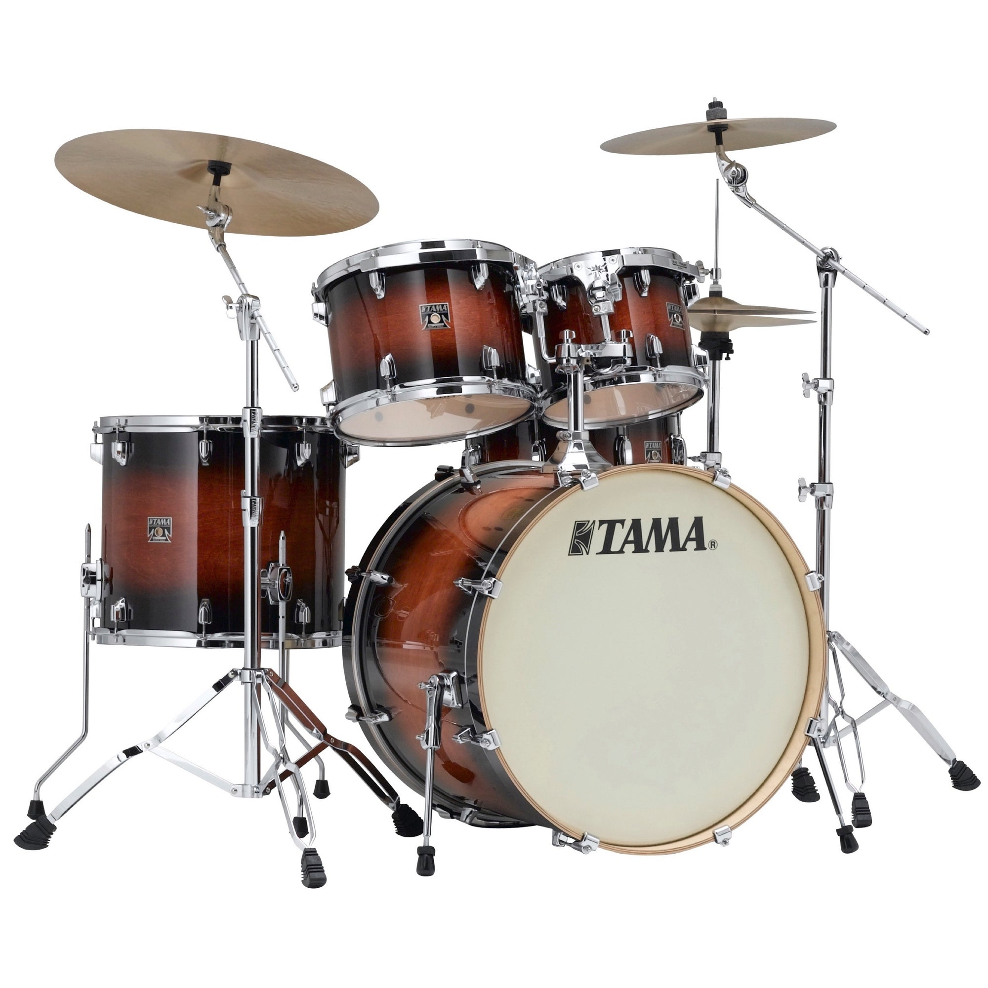 Tama CL52KS Superstar Classic Drum Shell Kit, 5-Piece, Mahogany Burst