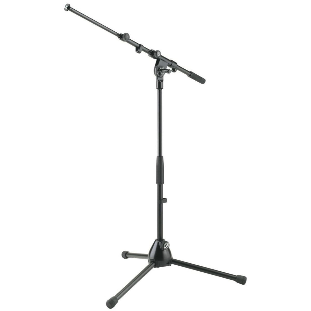 K&M 25900 Low Telescopic Boom Microphone Stand