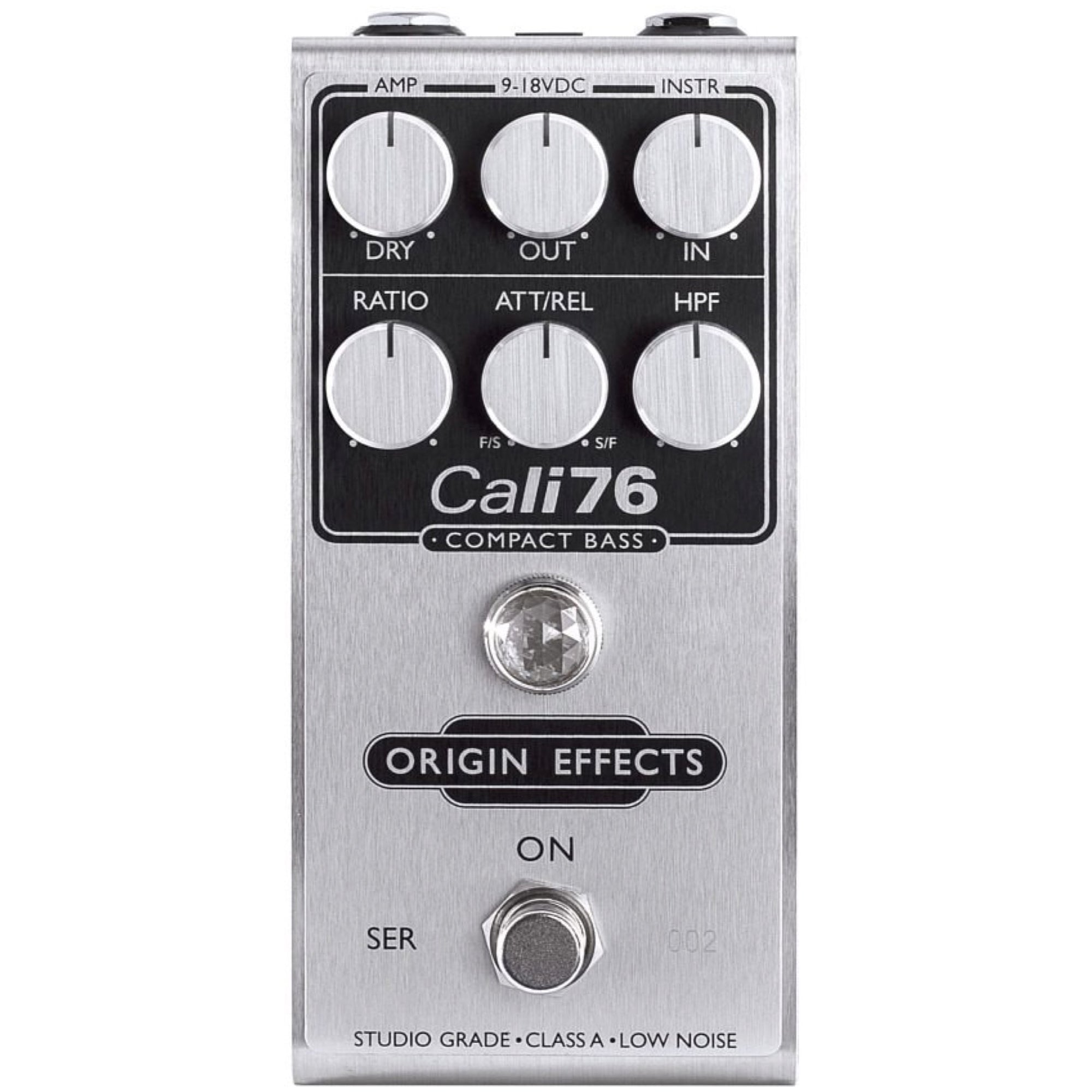 Origin Effects Cali76 Compact Bass Compressor Pedal