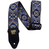 Load image into Gallery viewer, Ernie Ball Jacquard Guitar Strap, Tribal Blue
