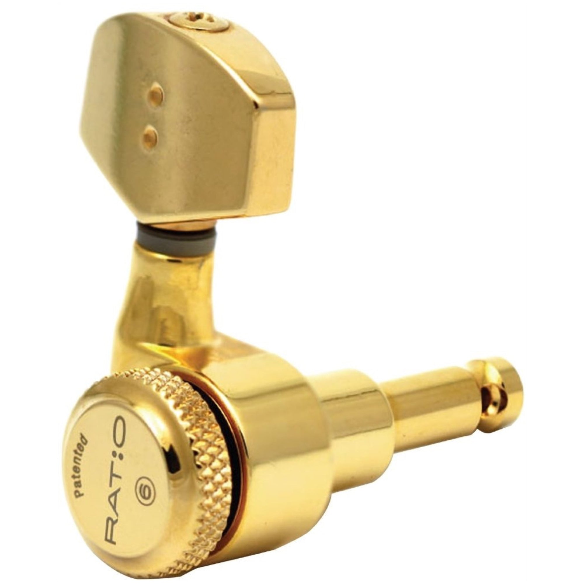 Graph Tech Ratio Locking Guitar Tuners (3+3), Gold
