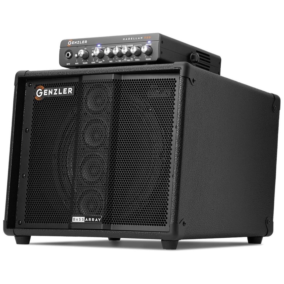 Genzler MG350 BA10 Bass Combo Pack (350 Watts, 1x10 Inch)