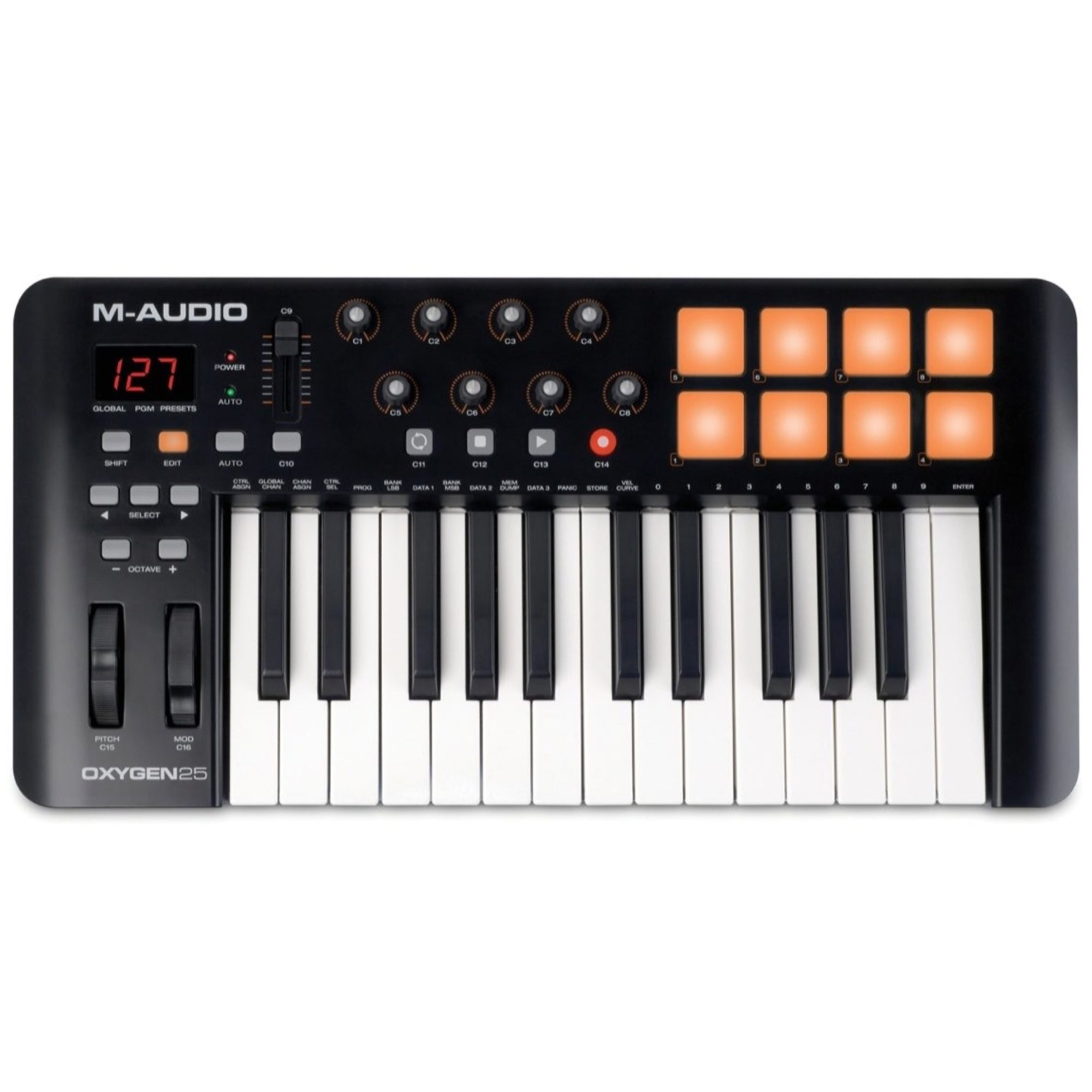 M-Audio Oxygen 25 IV USB MIDI Keyboard Controller, 25-Key