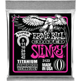 Load image into Gallery viewer, Ernie Ball 3123 Slinky Coated Titanium RPS Electric Guitar Strings