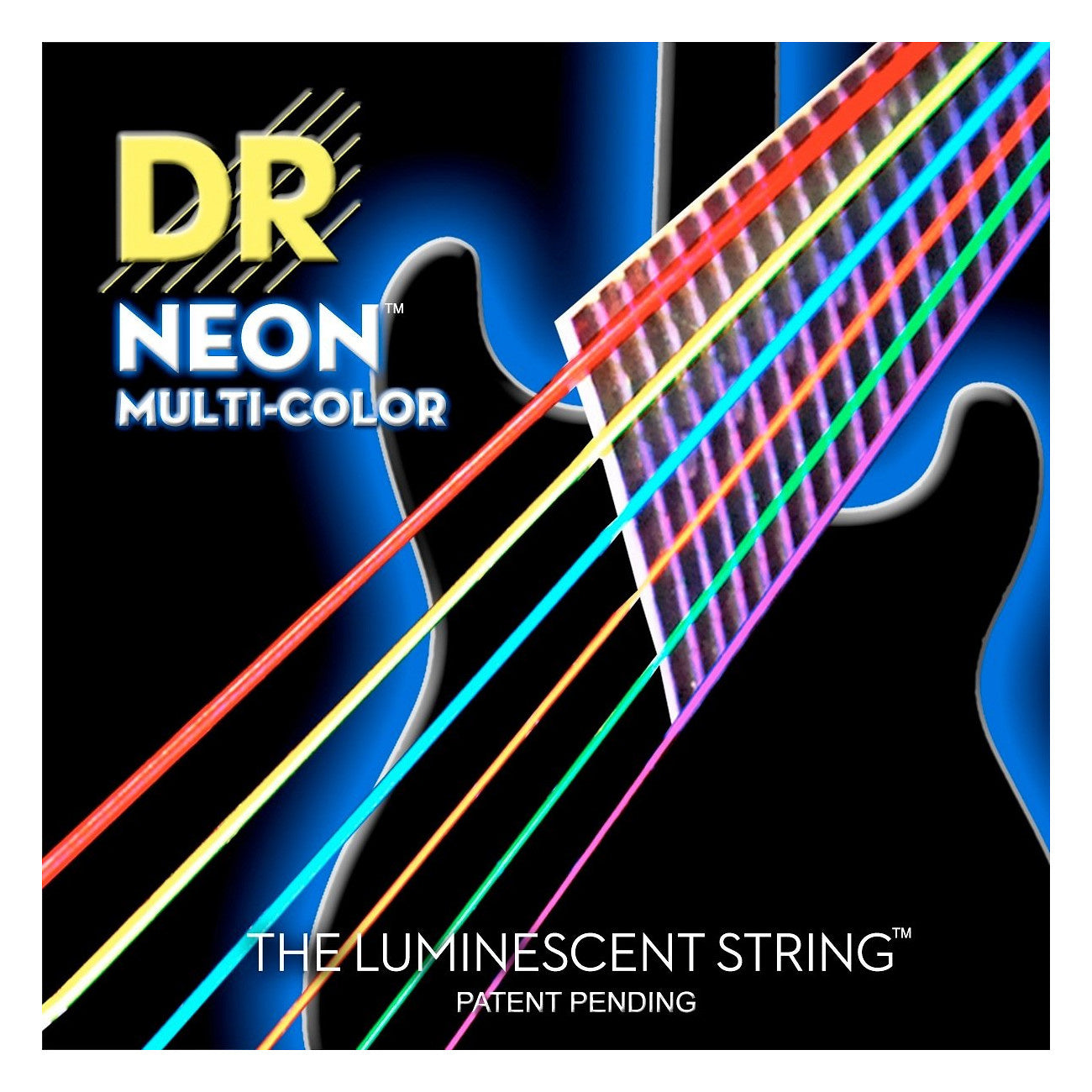 DR Strings NEON Multi-Color Electric Guitar Strings, NMCE-10, 17076