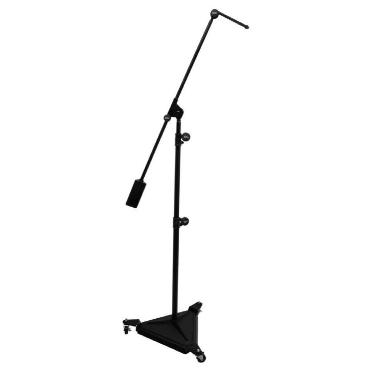 On-Stage SMS7650 Hex-Base Studio Boom Microphone Stand (with Casters)
