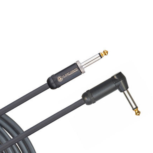 Planet Waves American Stage Instrument Cable with Straight to Right Angle End, 10 Foot