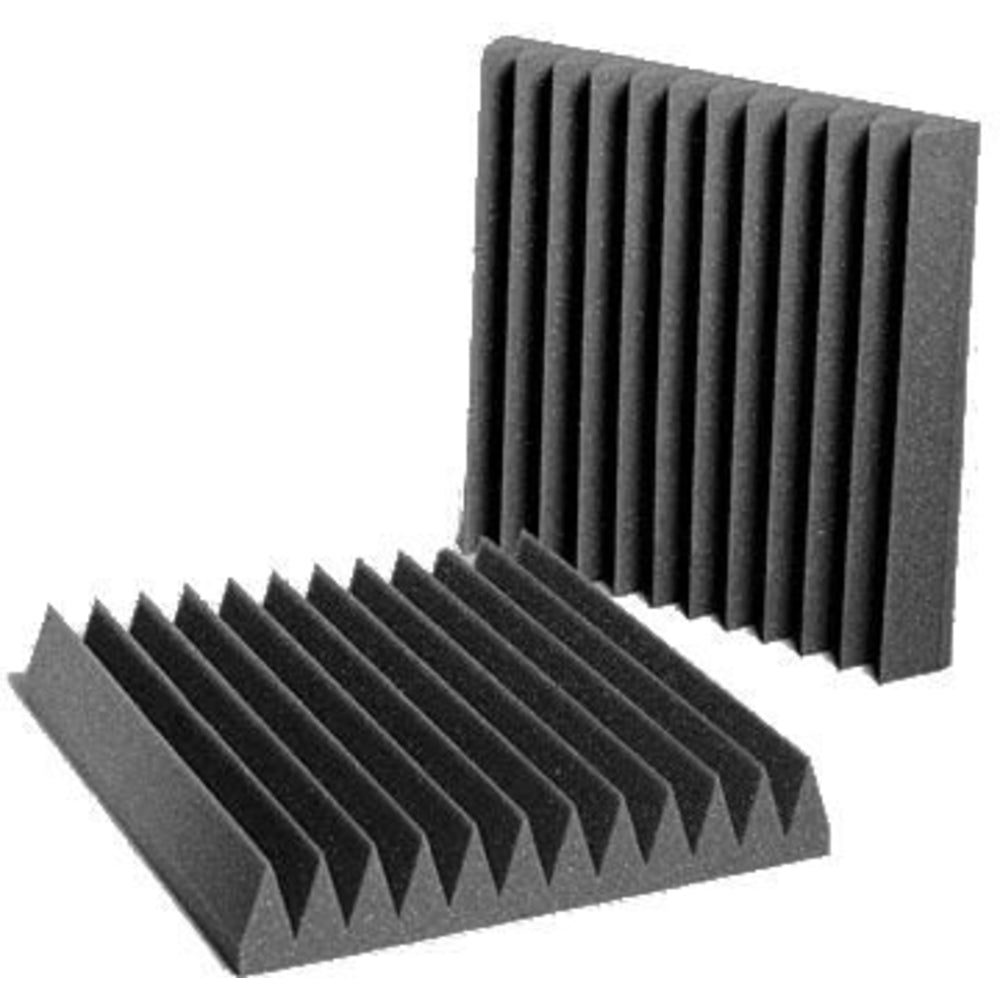 Auralex 2 Wedgie 12x12 Tiles (Gray, 24 Pack)