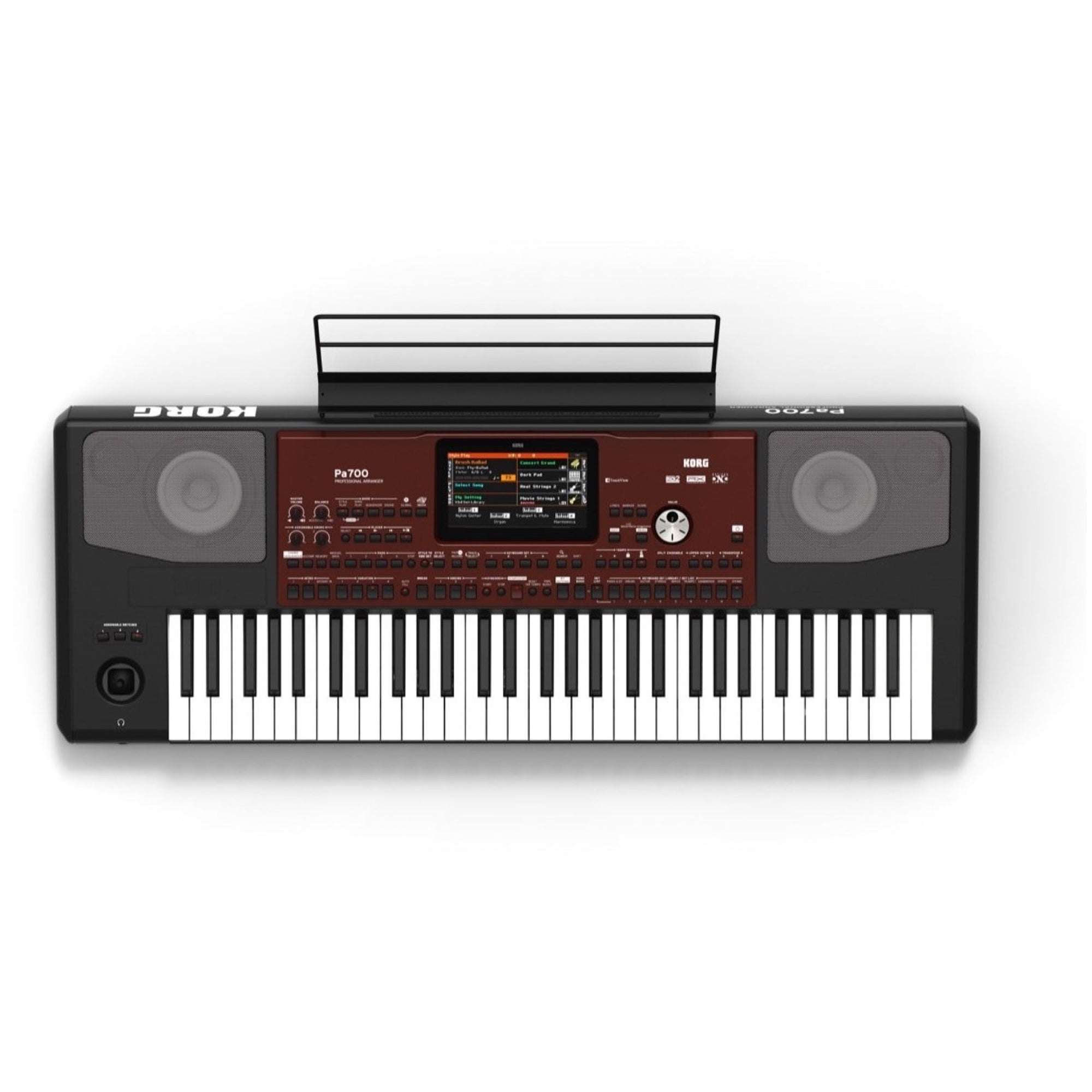 Korg Pa700 Arranger Workstation Keyboard, 61-Key