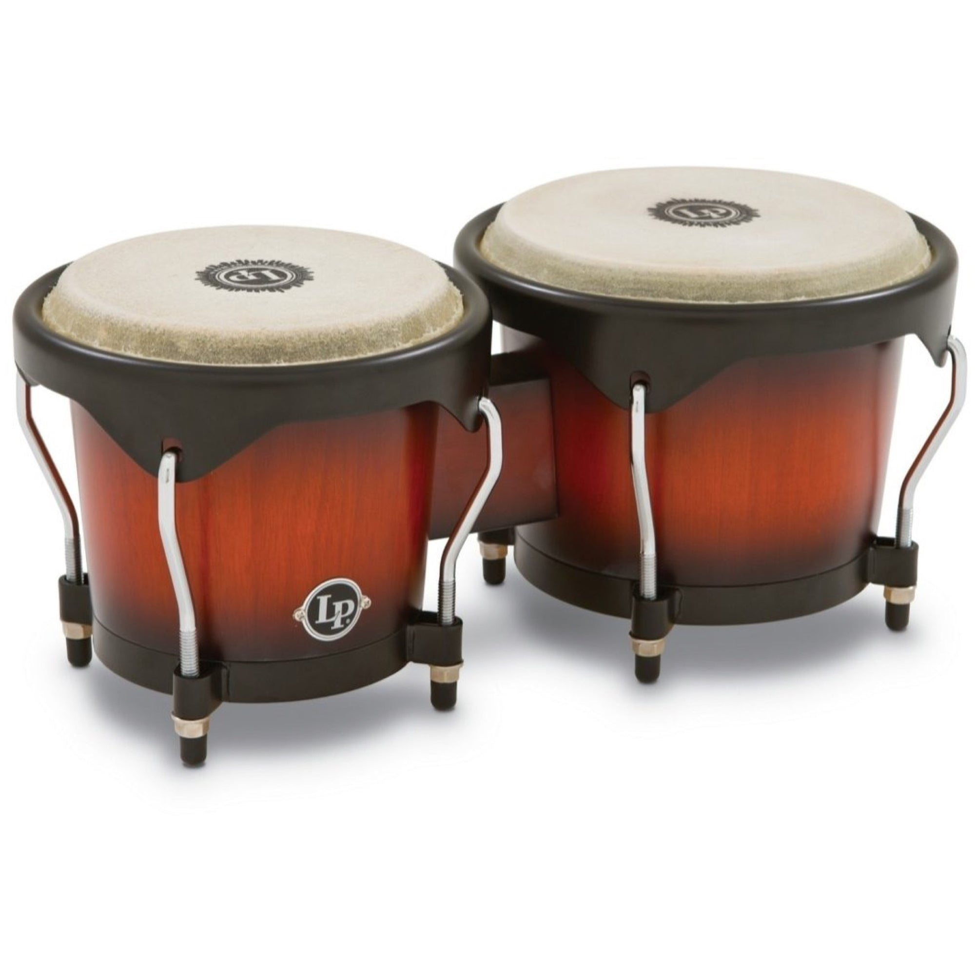 Latin Percussion 601 City Series Bongos, Vintage Sunburst
