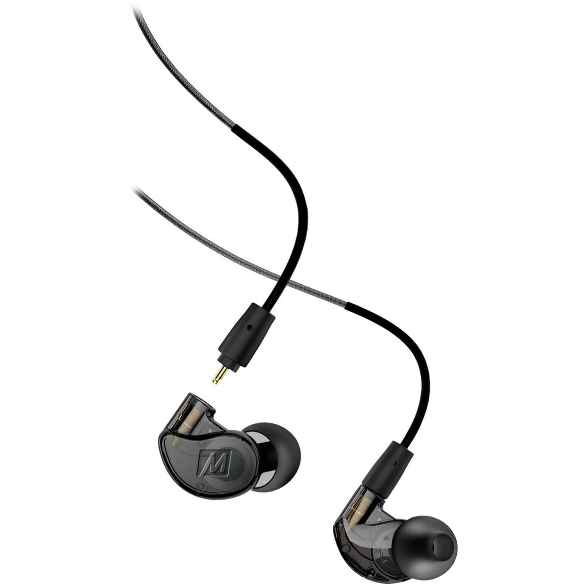 MEE Audio M6 PRO 2 In-Ear Headphones with Bluetooth Cable, Black