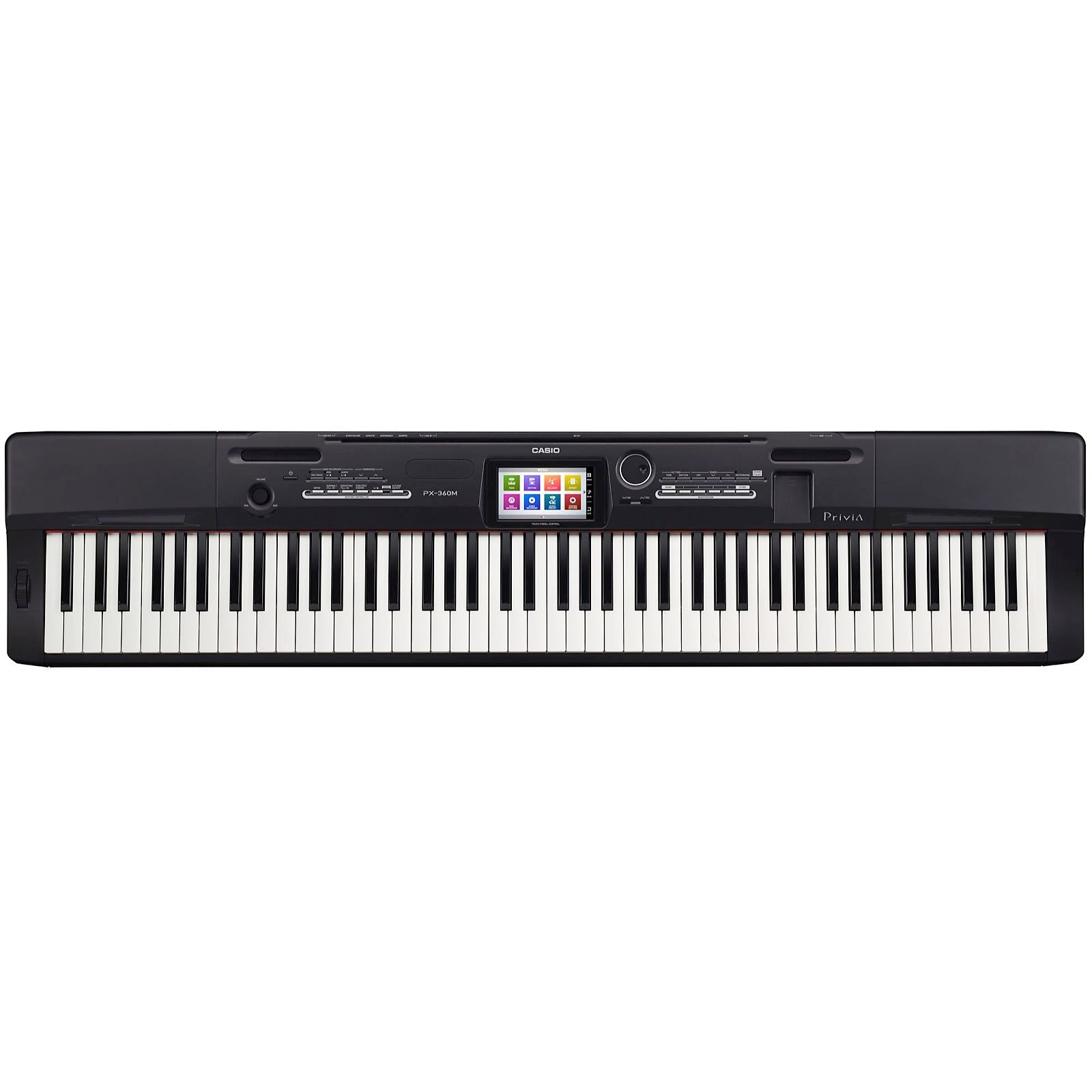 Casio PX-360 Privia Digital Piano, Black