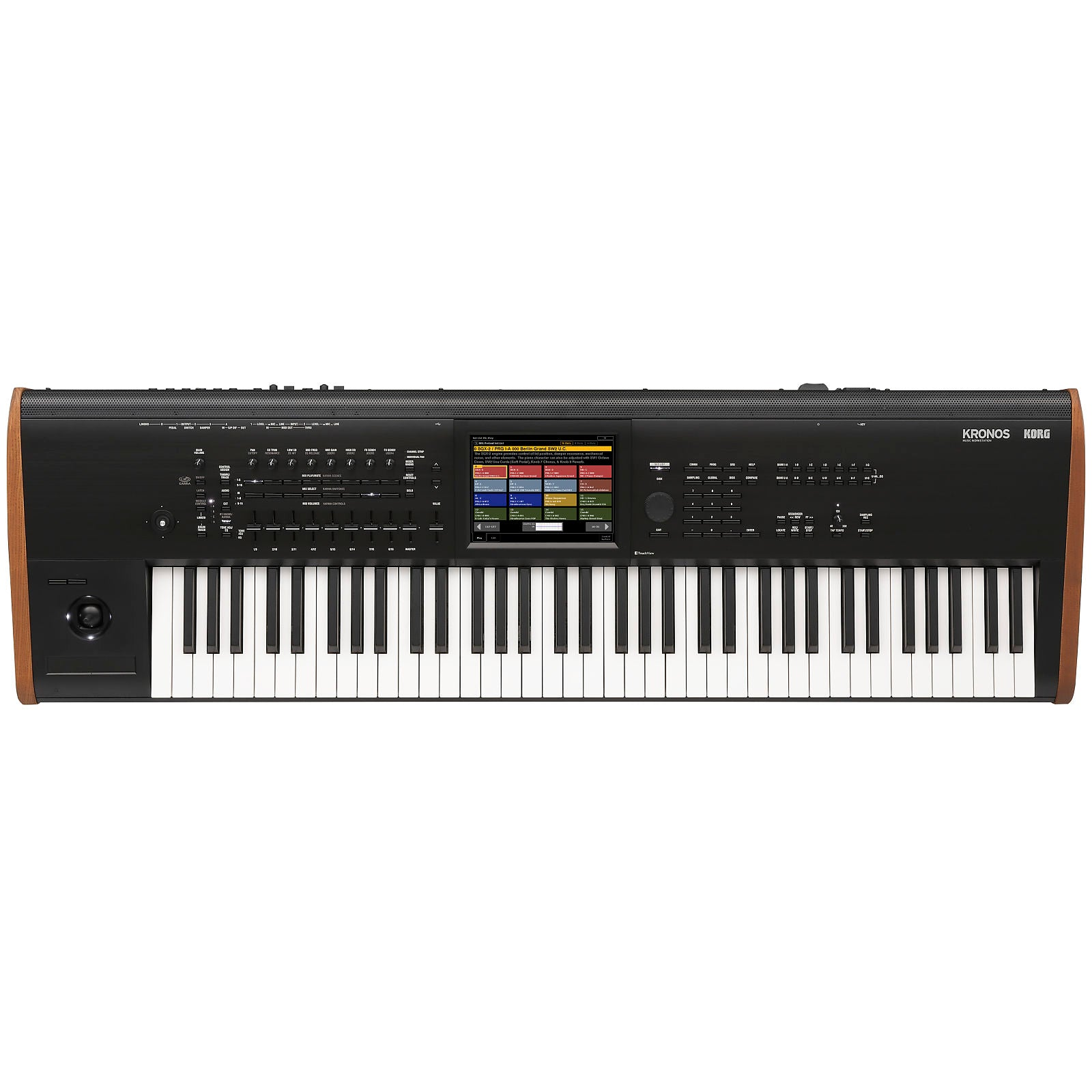 Korg Kronos 7 Music Workstation Keyboard, 73-Key