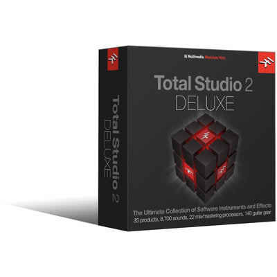 IK Multimedia Total Studio 2 Deluxe Software