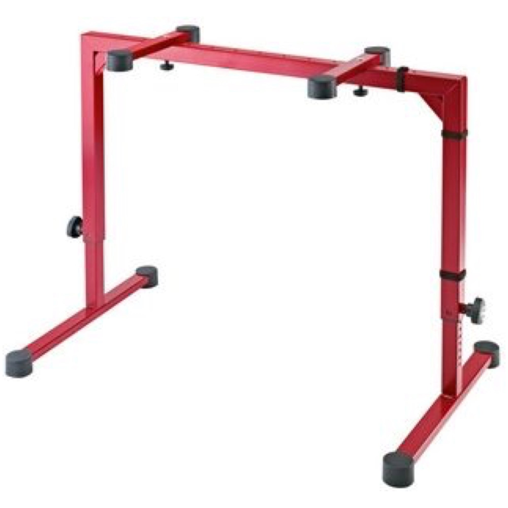 K&M Omega Table-Style Keyboard Stand, Red