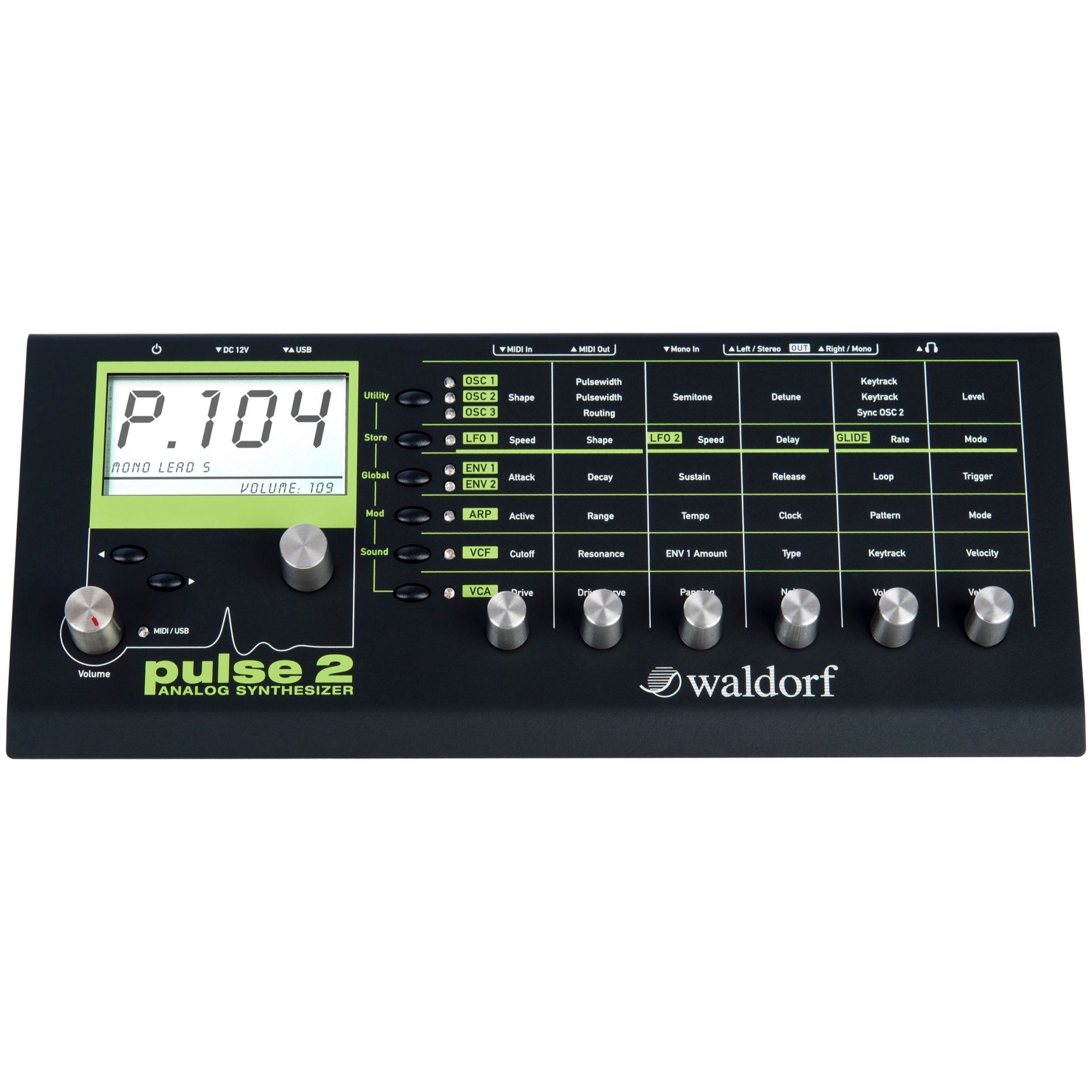 Waldorf Pulse 2 Analog Synthesizer