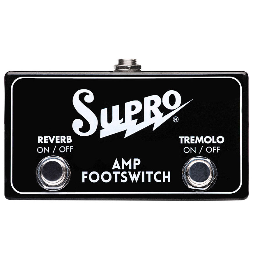 Supro SF2 Tremolo/Reverb Dual Button Footswitch