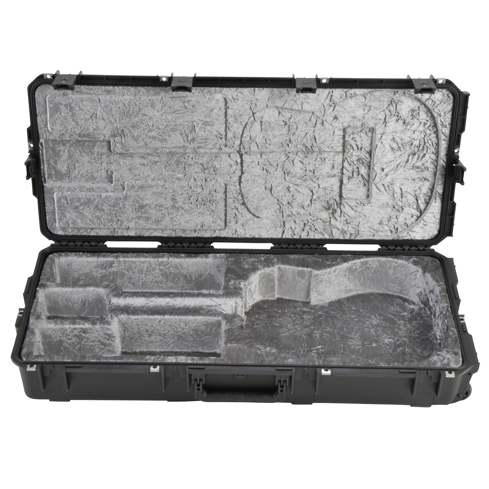 SKB 3i Series Waterproof Rolling Acoustic Guitar Case, Black, 3I-4217-18
