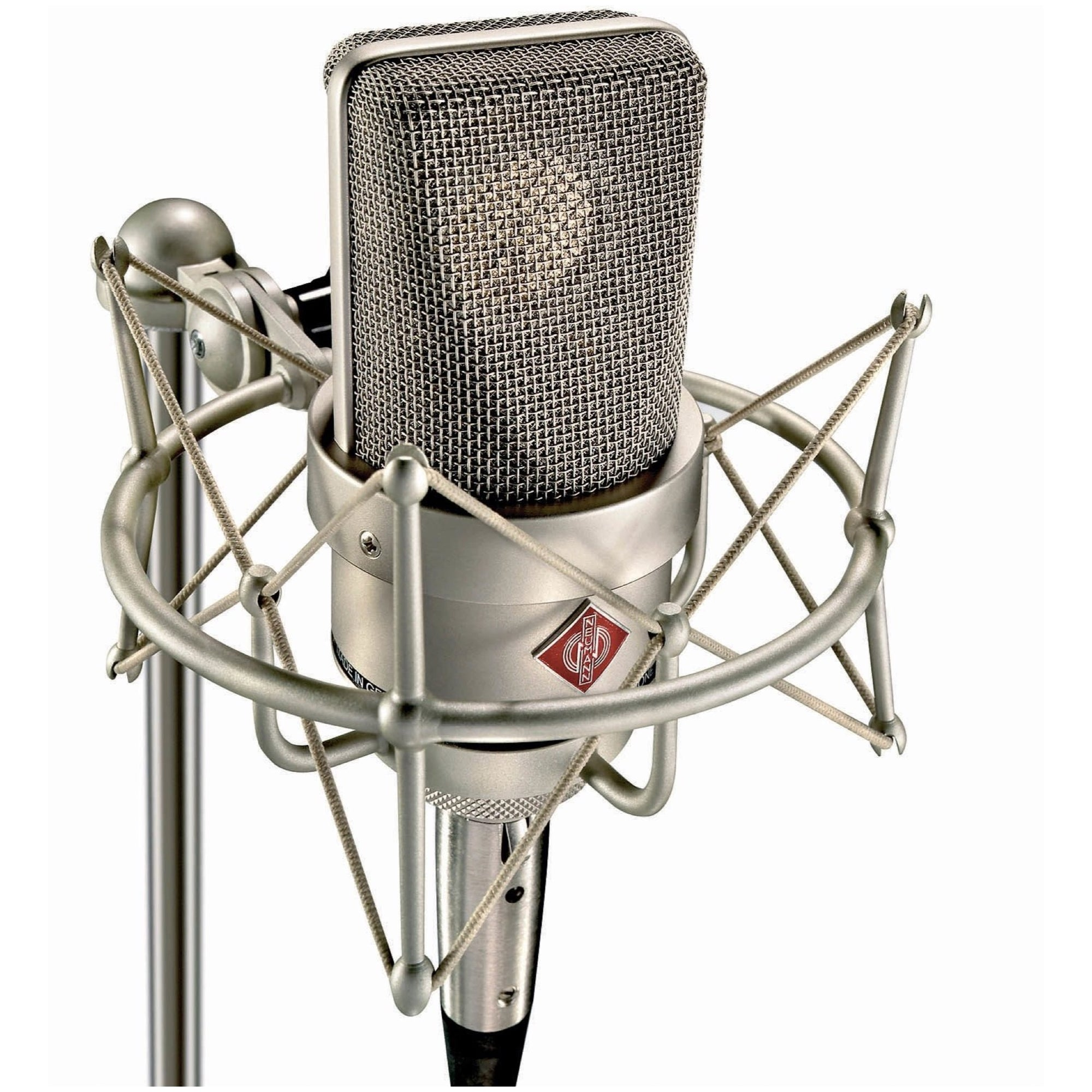 Neumann TLM 103 Anniversary Large-Diaphragm Condenser Microphone with Shockmount and Case, Nickel