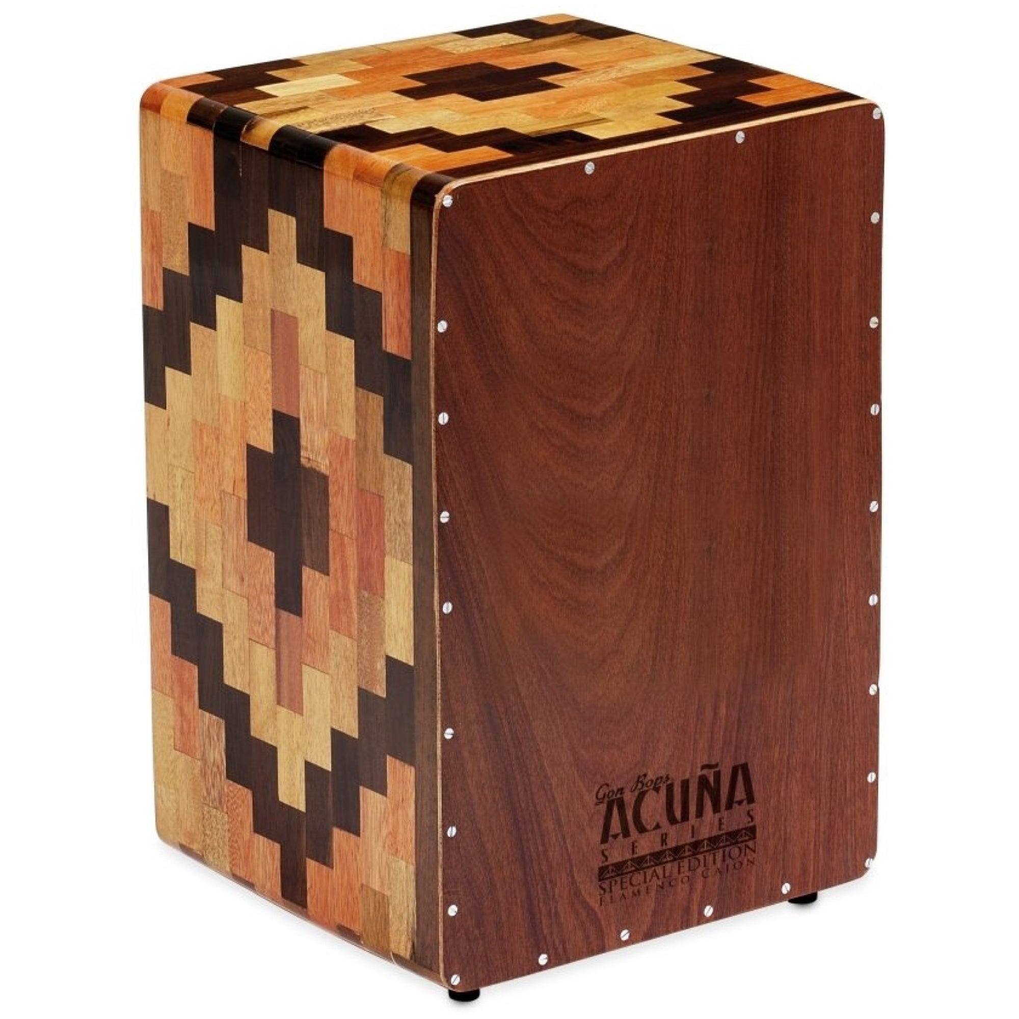 Gon Bops Alex Acuna Special Edition Cajon, with Gig Bag