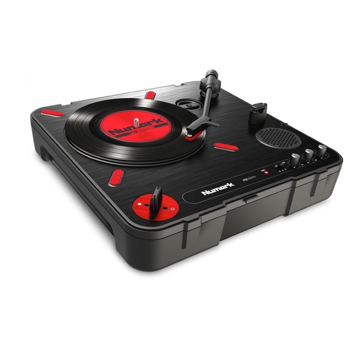 Numark PT01 Scratch Portable Belt-Drive Turntable