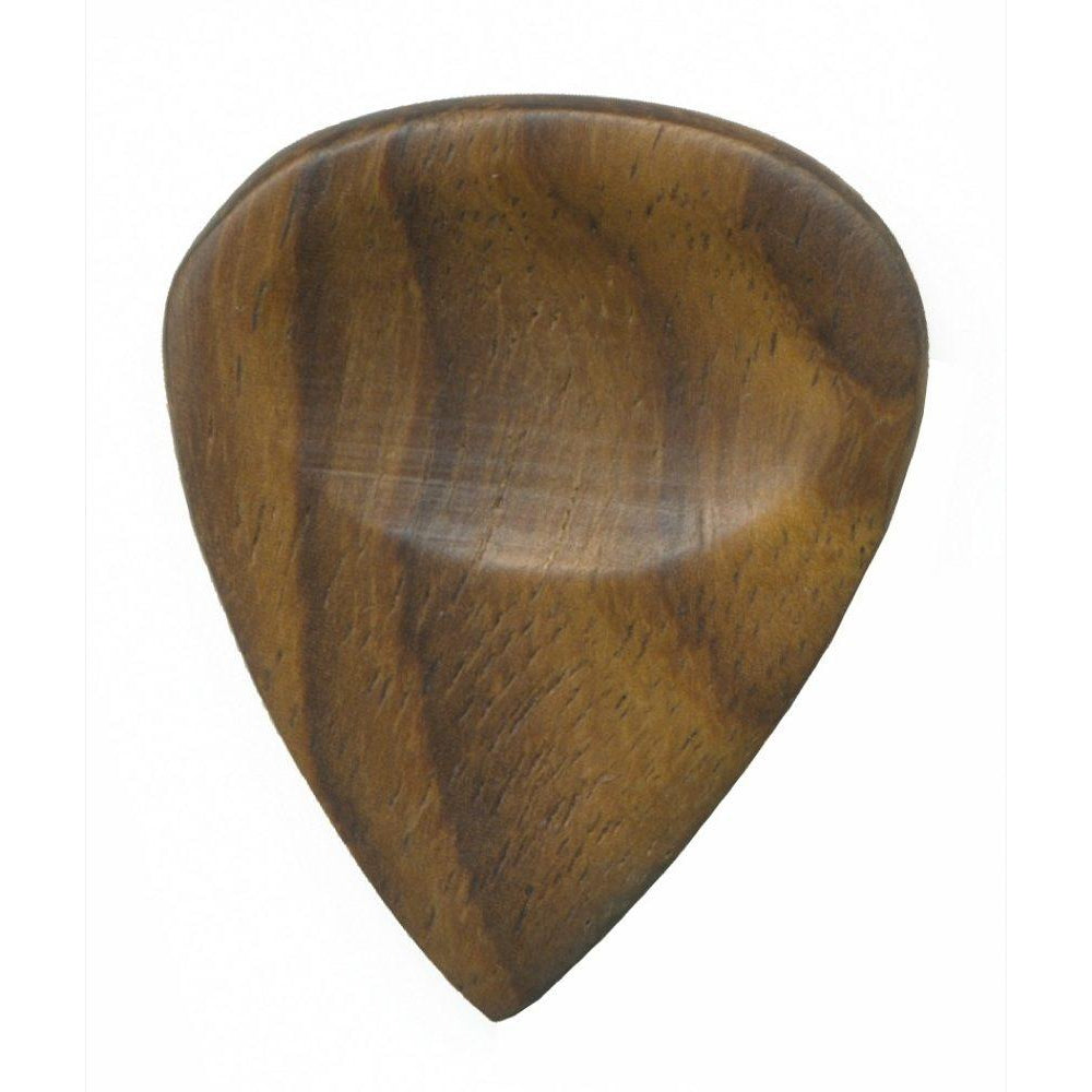 Clayton Exotic Standard Guitar Picks (3-Pack), Dark Wood