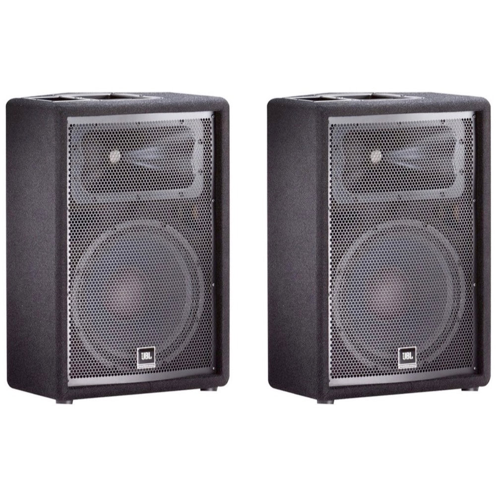 JBL JRX212 2-Way Passive, Unpowered PA Speaker, Pair