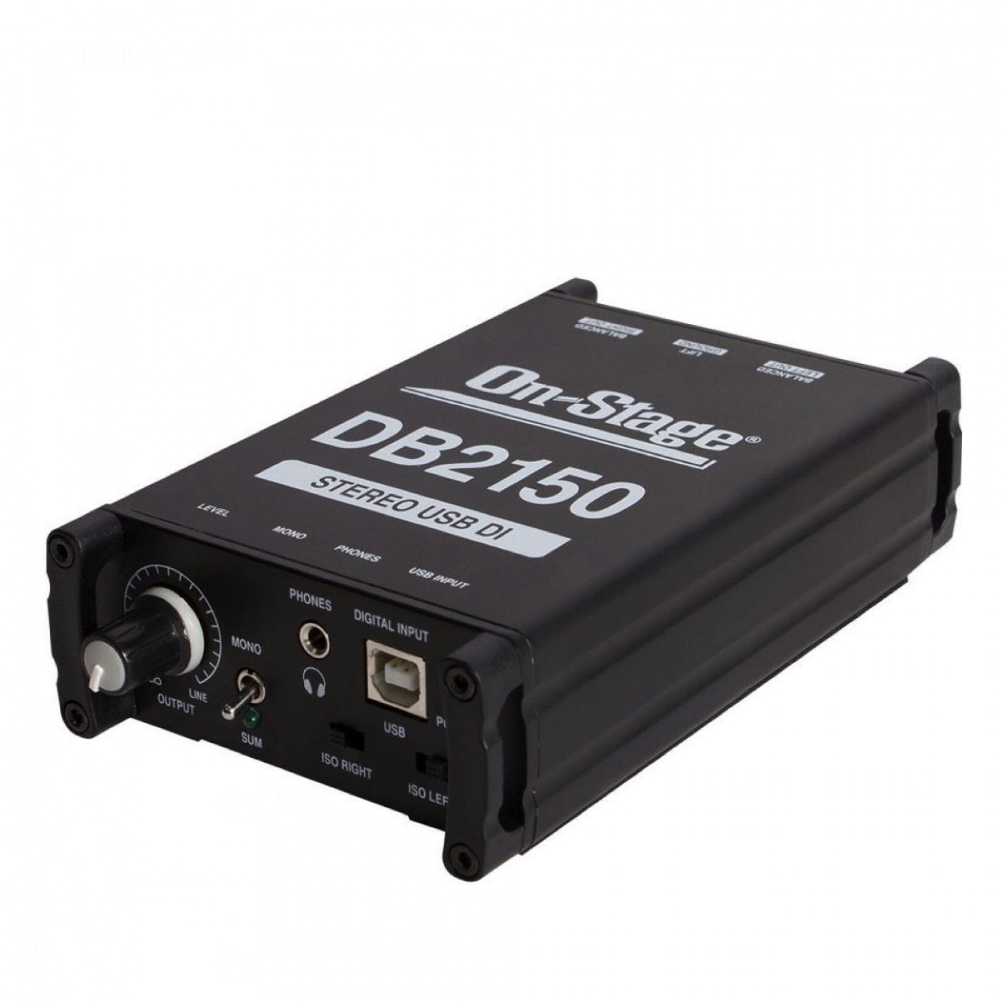 On-Stage DB2150 Stereo USB DI Direct Box