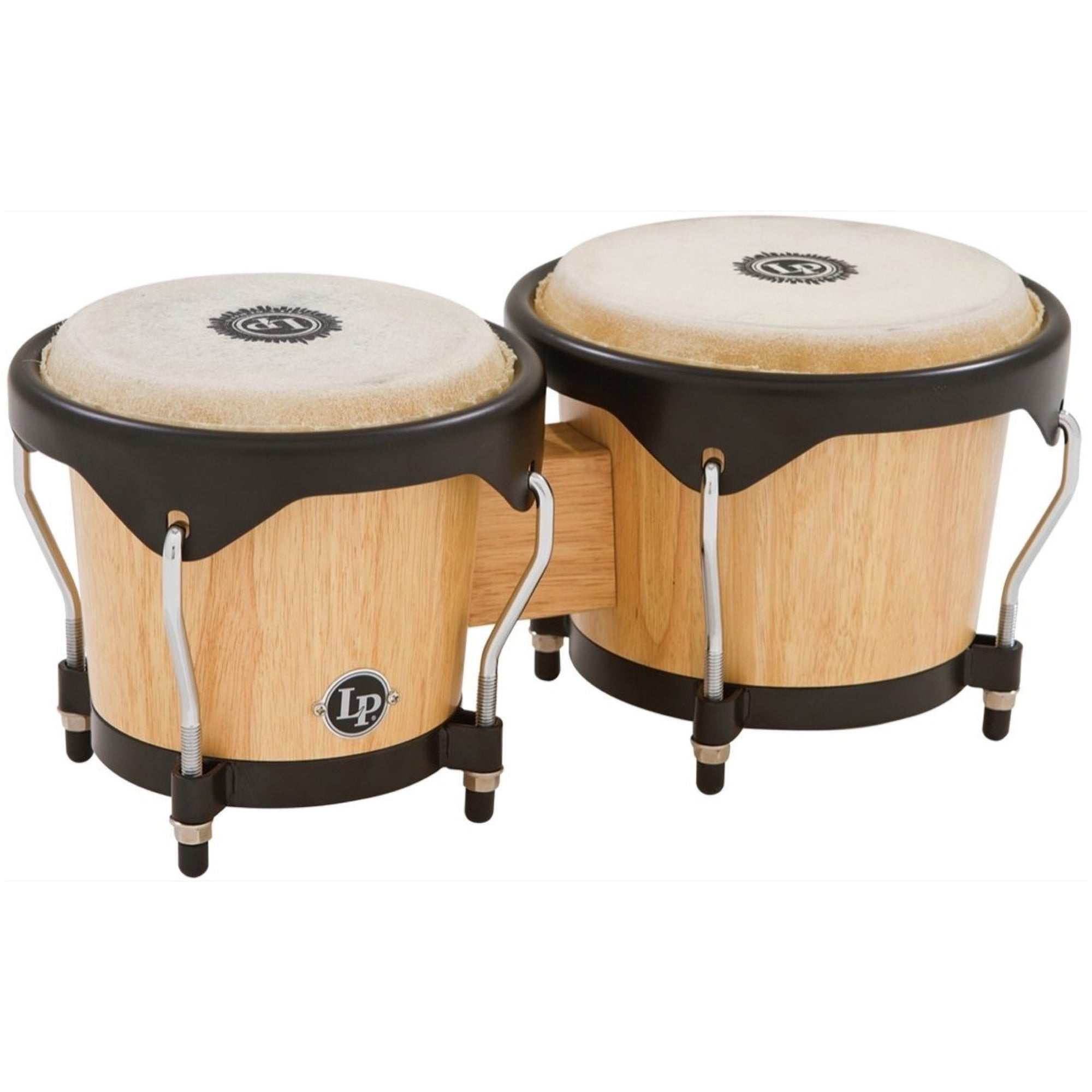 Latin Percussion 601 City Series Bongos, Natural