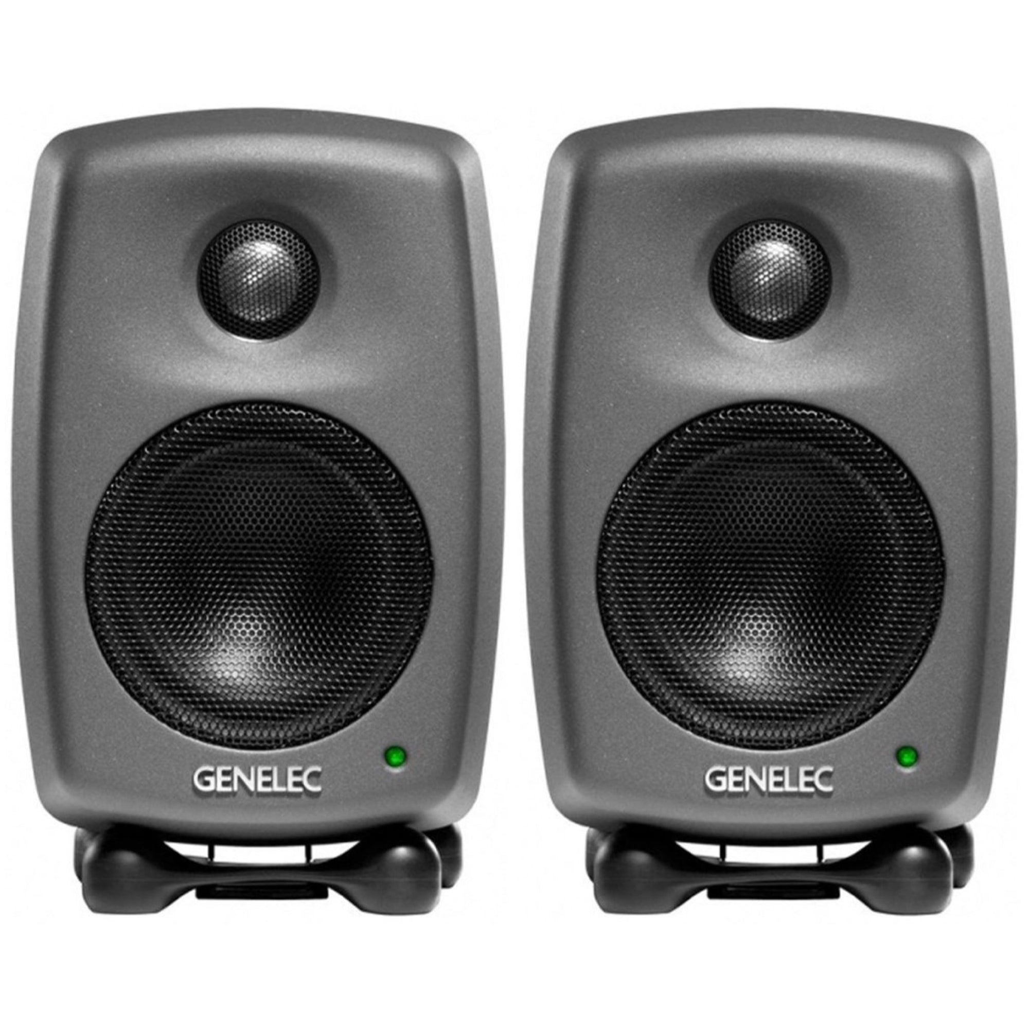 Genelec 8010A Compact Powered Studio Monitor, Pair