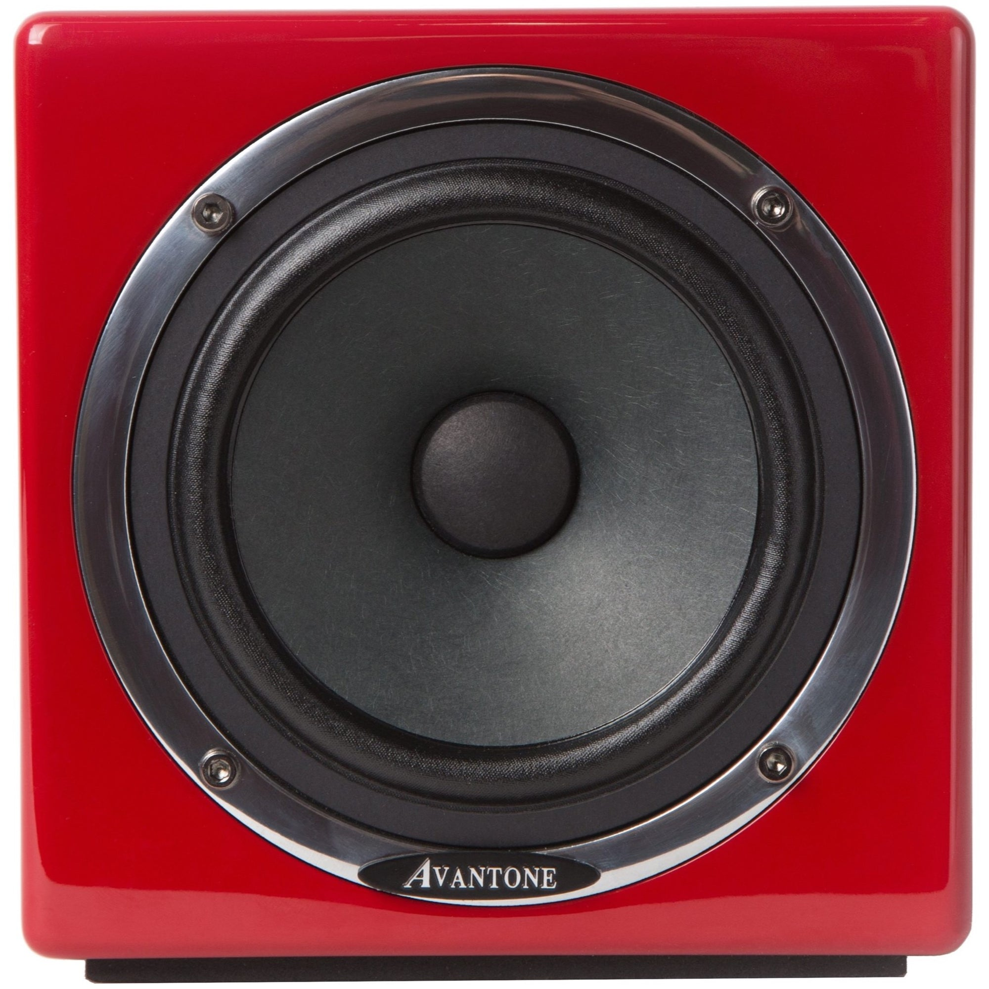 Avantone MixCubes Active Studio Monitor (60 Watts, 1x5.25 Inch), Red, Single