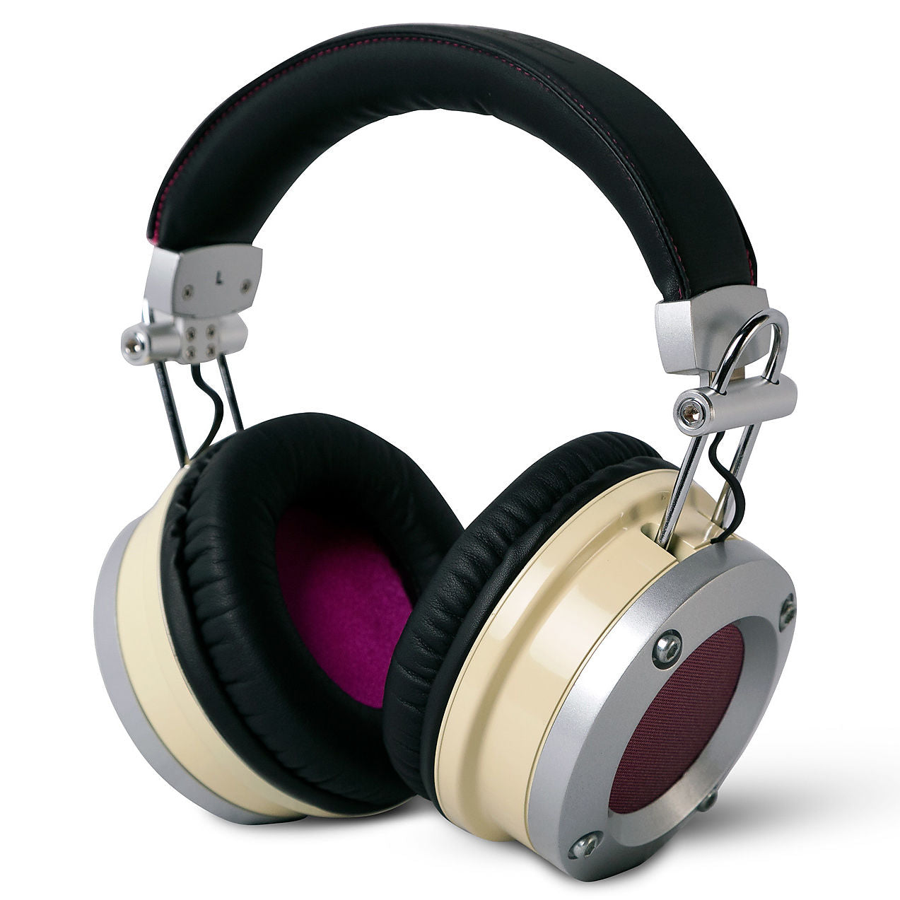 Avantone MP1 Mixphones Over-Ear Closed-Back Studio Headphones, Ivory